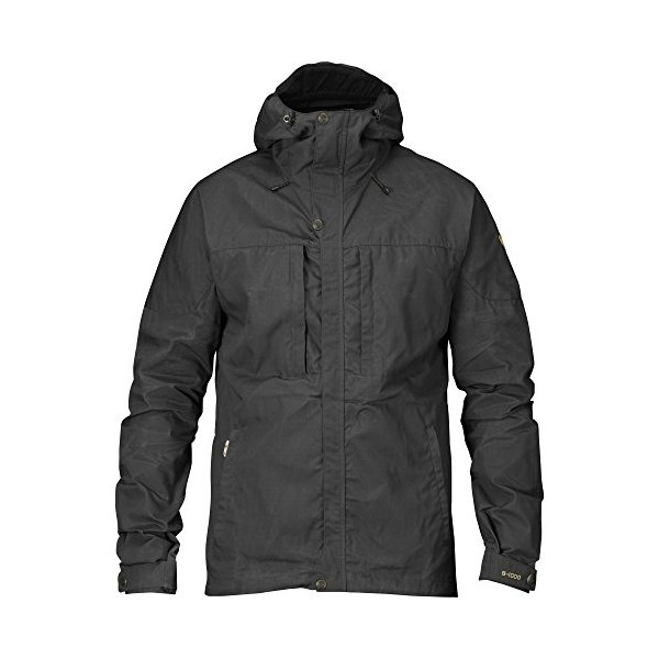 Fjallraven Men's Skogso Jacket, Dark Grey, Medium