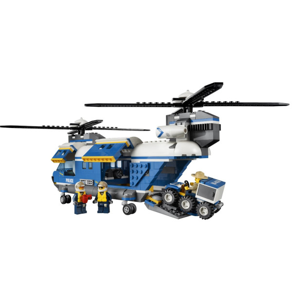 LEGO City Police Heavy-Lift Helicopter