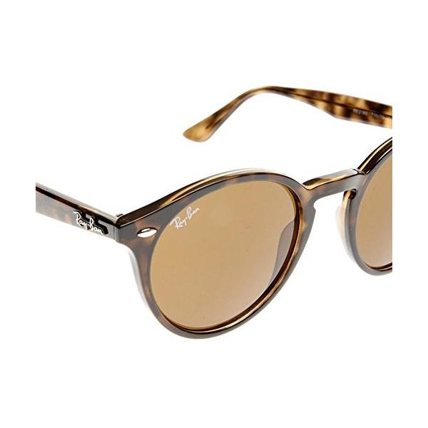 Ray-Ban Men's 0RB2180 Square Sunglasses, Dark Havana Dark & Brown, 50 mm
