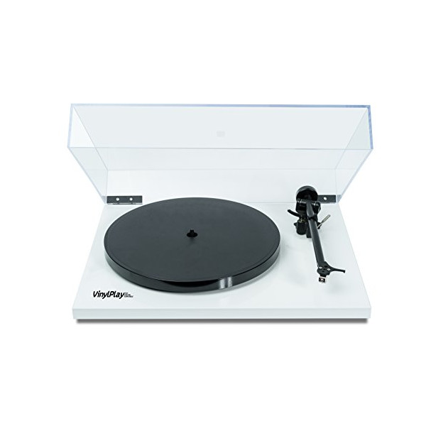 Flexson VinylPlay high-quality digital turntable with lid - convert vinyl to digital