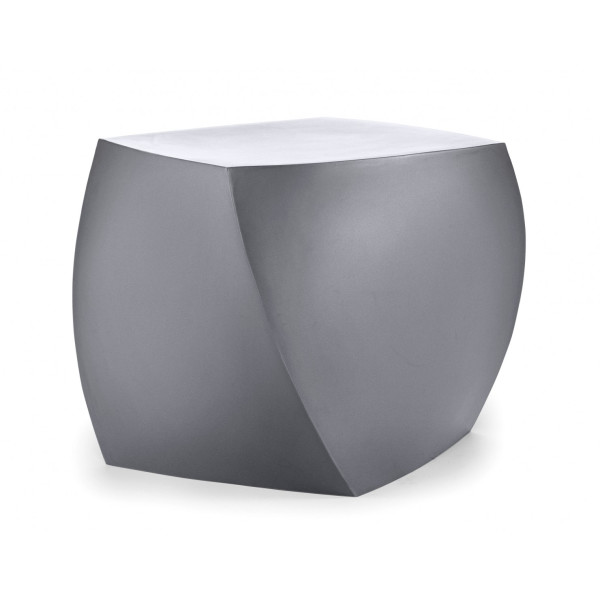 Heller Frank Gehry Right Twist Cube, Silver