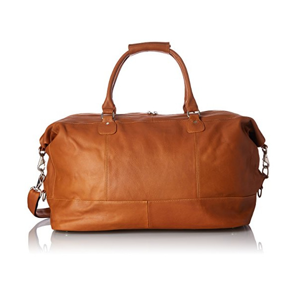Piel Leather Large Classic Satchel Carry-On, Honey, One Size