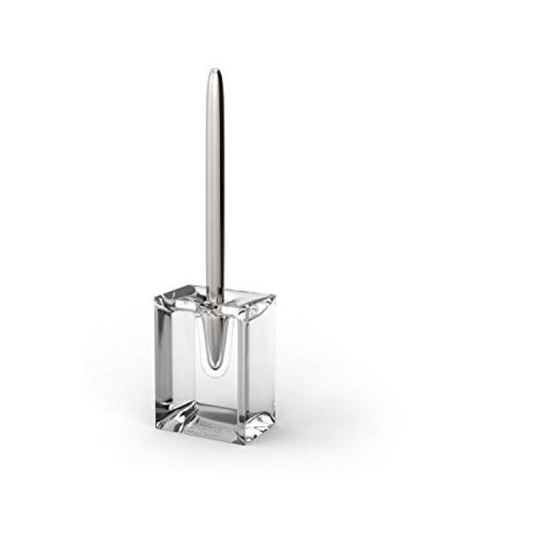 Lexon Aluminum Ballpoint Pen with Clear Transparent Base