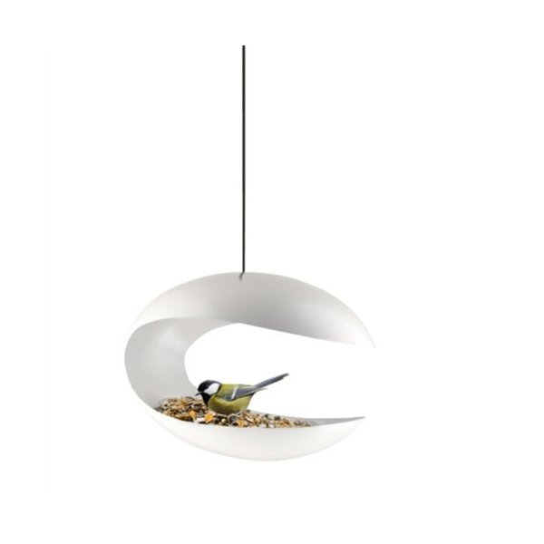 Eva Solo Hanging Bird Table, White