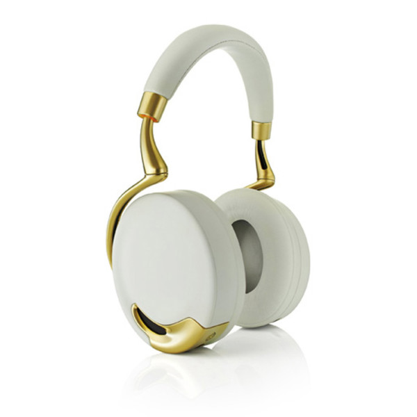 Parrot Zik Wireless Noise Cancelling Headphones with Touch Control, Yellow Gold