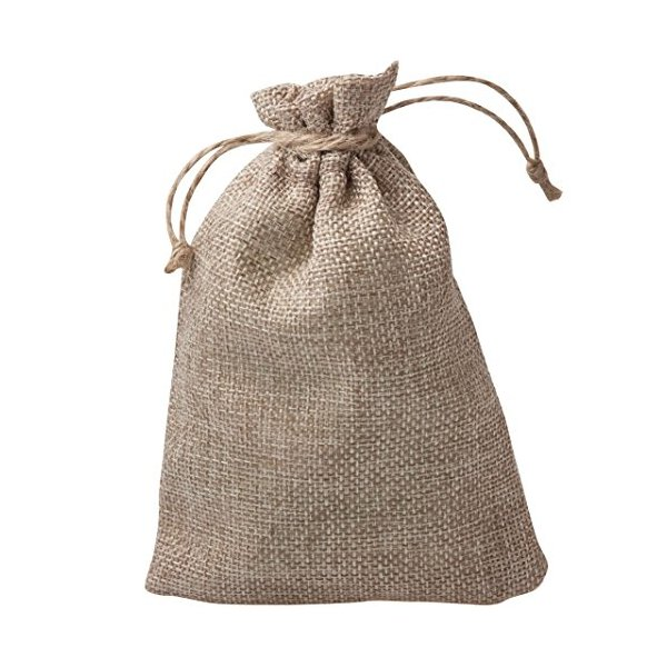Small Jute Hessian Gift Bags (single)