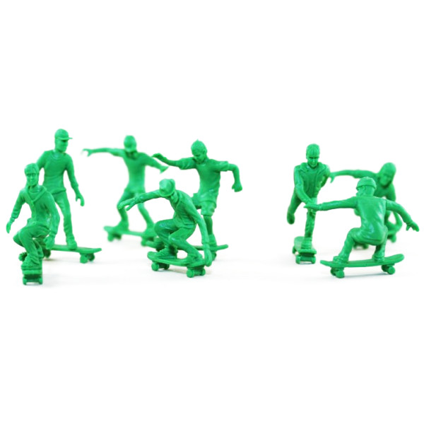 AJ Toy Boarders 24pc Skateboard Figures