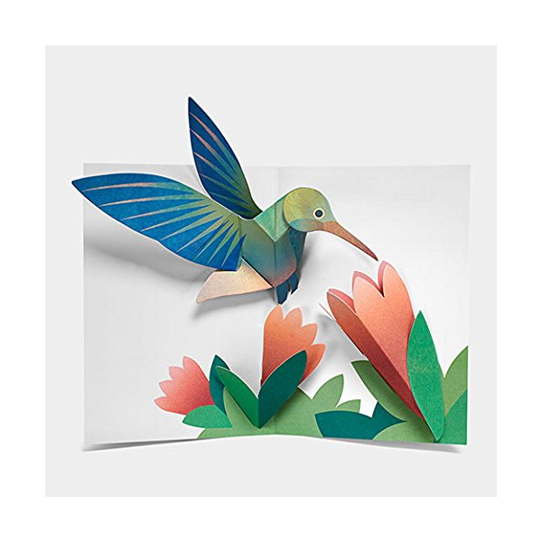MoMA Sabuda Hummingbird Pop Up Notecards