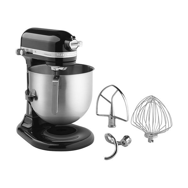 KitchenAid KSM8990OB 8-Qt Commercial Bowl-Lift Stand Mixer, Onyx Black