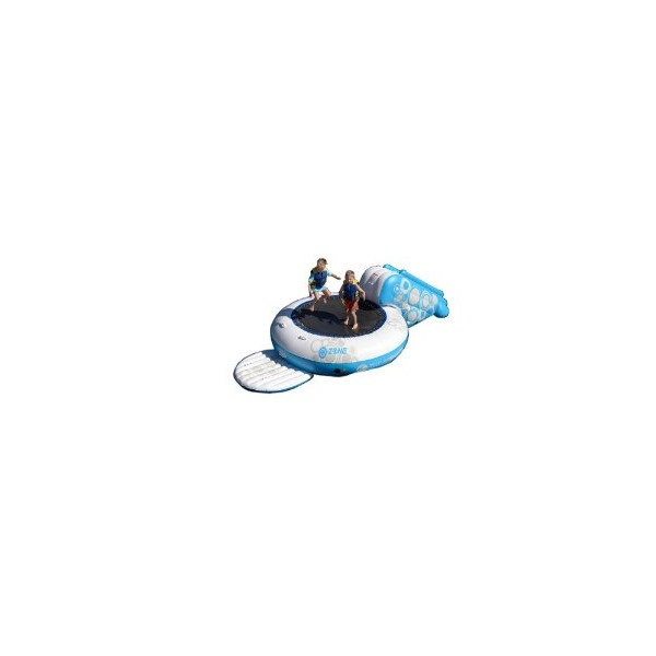 Rave O-Zone XL Plus Water Bouncer (White/Blue)