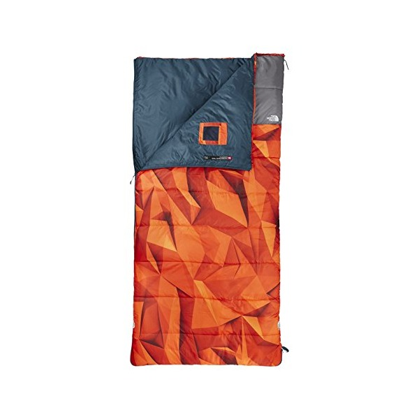 The North Face Homestead Twin 40/4 Sleeping Bag (Low Poly Print, Right Hand Regular)