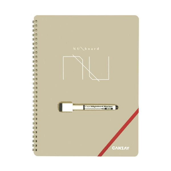NUboard, Dry Erase Notepad, A4 size