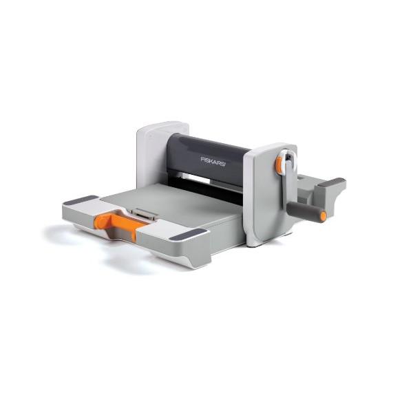 Fiskars 100770-1001 Fuse Die Cut and Letterpress, Starter Set