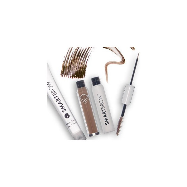 SMARTBROW Eyebrow Filler & Cleanser Duo In Brunette, NEW!
