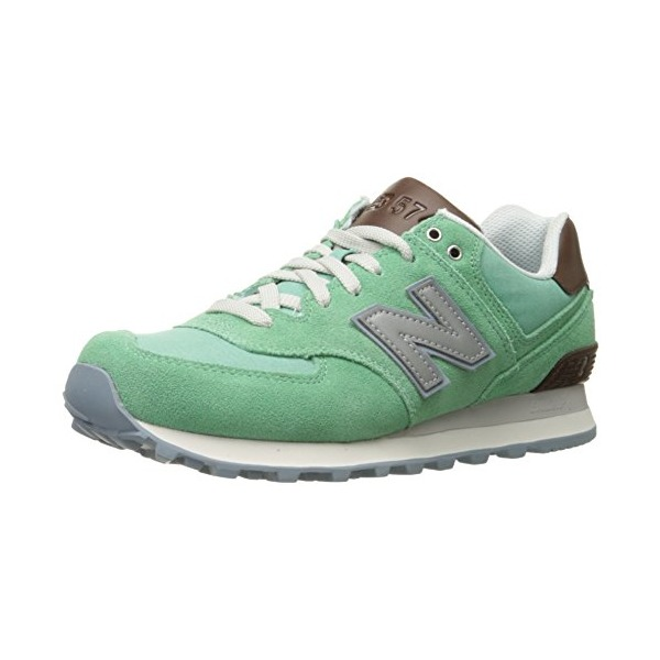 New Balance Women's WL574 Beach Cruiser Pack Classic Running Shoe, Mint, 6 B US