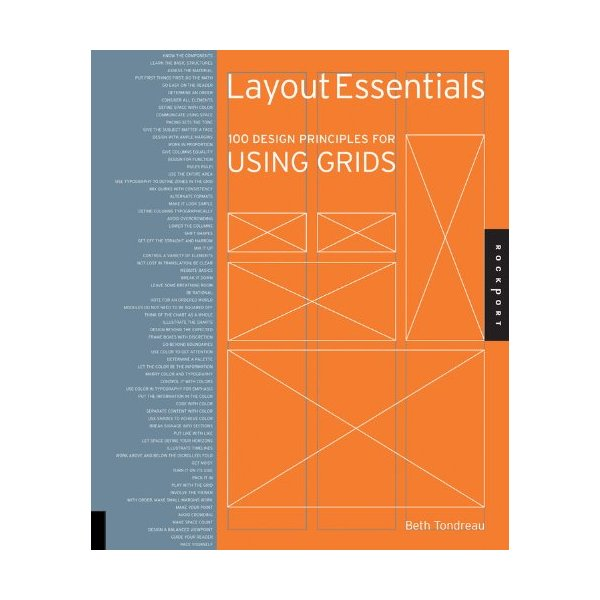 Layout Essentials: 100 Design Principles for Using Grids (Design Essentials)