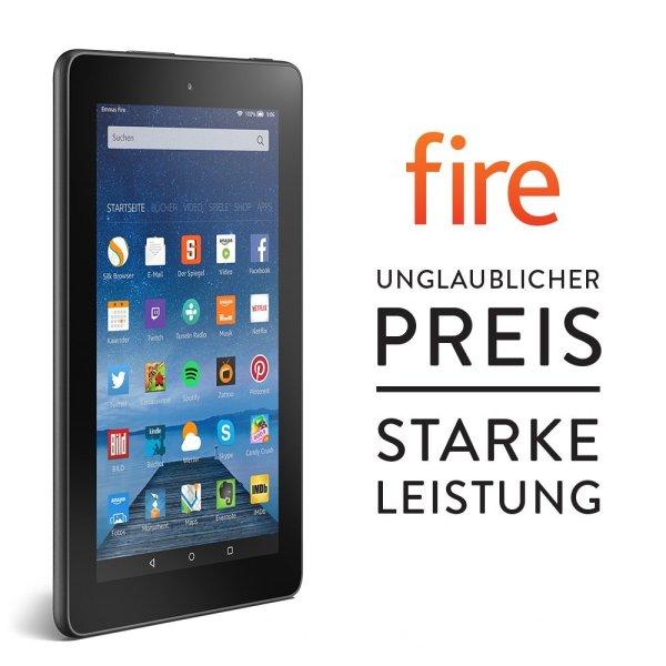 Fire, 17,7 cm (7 Zoll) Display, WLAN, 8 GB - mit Spezialangeboten