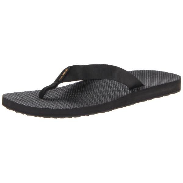 Teva Men's Original Flip M Sandal,Black,9 M US