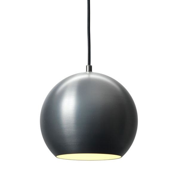 Topan Vp6 Pendant Lamp, Brushed Steel