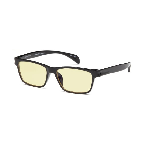 GAMMA RAY FLEXLITE GR003-C1 Computer Reading Glasses in Ergonomic Memory Flex Frame with UV Protection, Anti Blue Rays, Anti Glare and Scratch Resistant Lens in 53-16-140 Size with Optional +1.25 to +3.00 Power