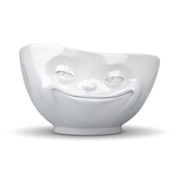 Tassen White Porcelain Face Bowls, Grinning
