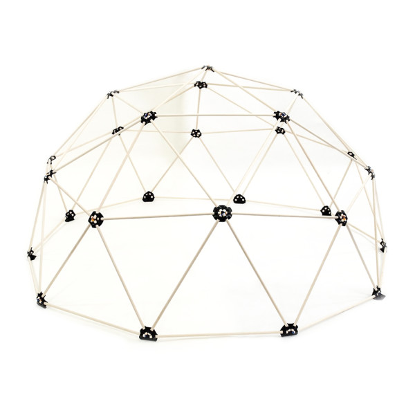 Small Geodesic Dome Kit, 6ft Diameter x 3 ft Tall