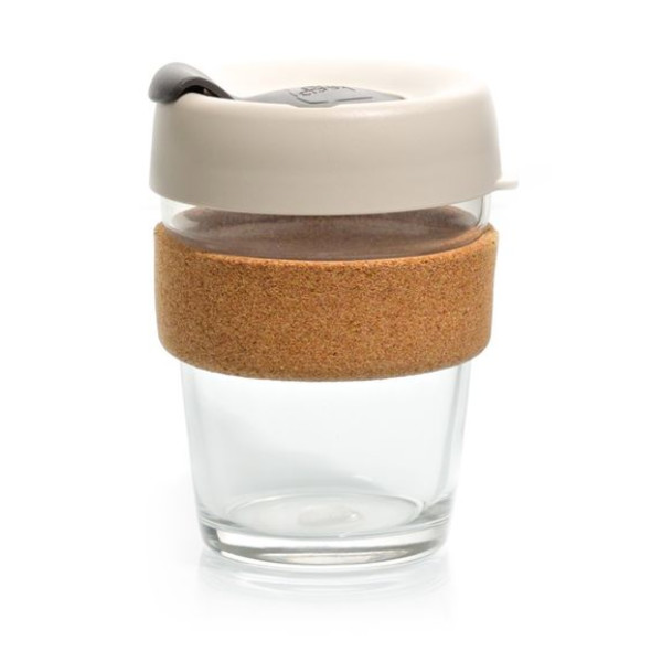 KeepCup Brew Glass Reusable Coffee Cup, 12 oz/Medium, Filter