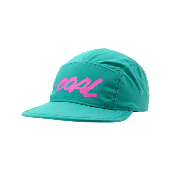 Coal Men's The Marty 5 Panel Cap, Turquoise, One Size