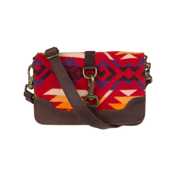 Pendleton Small Essentials Bag, Coyote Butte Scarlet