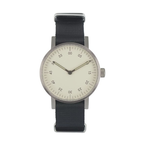 VOID Watches V03B Watch, Brushed/White