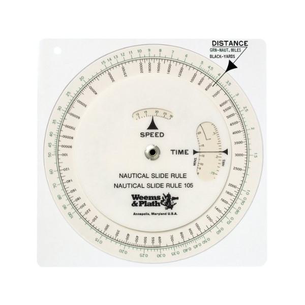 Weems & Plath Marine Navigation Nautical Slide Rule