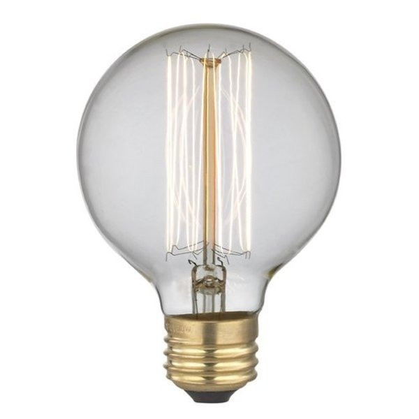 Midwood Vintage Edison-Type 40w Bulb G25, 4 Pack
