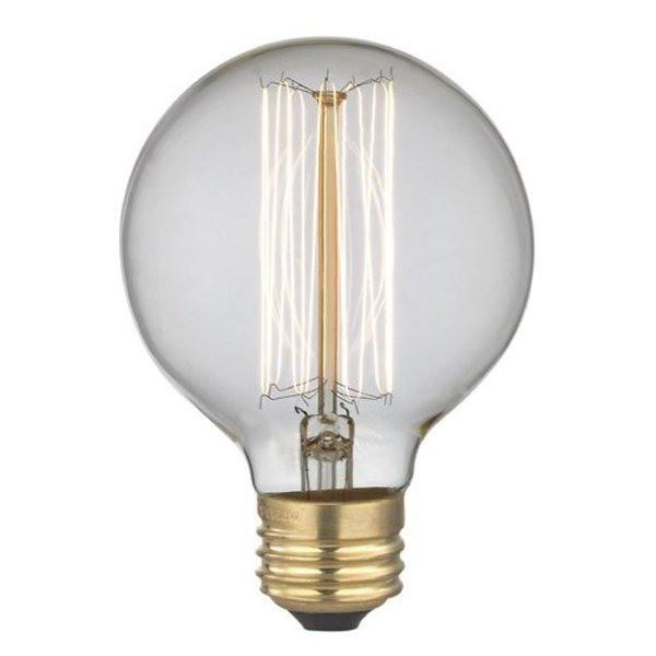 Midwood Vintage Edison-Type 40w Bulb G25, 4 Pack