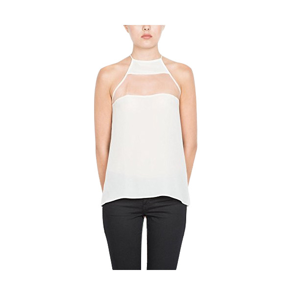 Cami NYC, The High Top Camisole, White