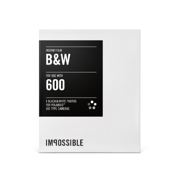 600-Type Camera Black & White Instant Film
