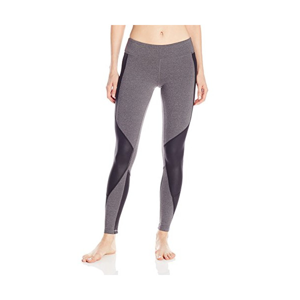 Alo Yoga Women's Undertone Legging, Stormy Heather/Black, X-Small