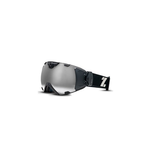 Zeal Base HD Camera Goggle Black/Metal Mirror, One Size