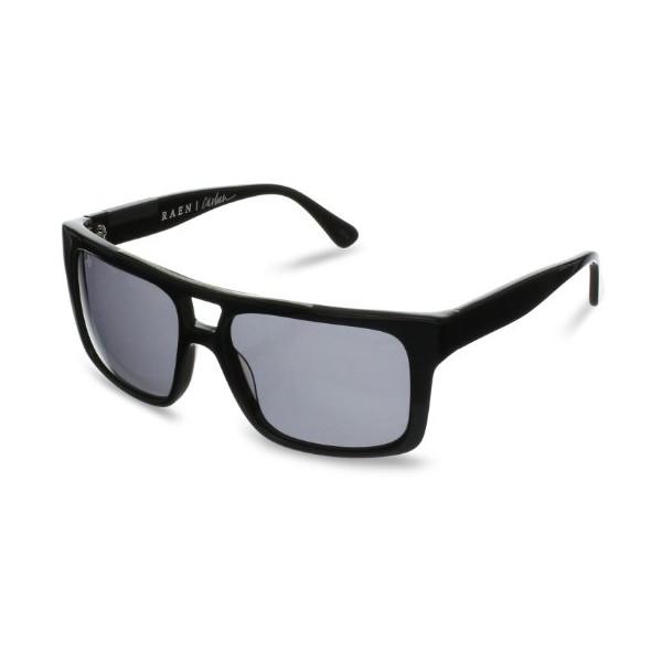 Raen Casbah Polarized Aviator Sunglasses,Black,54 mm