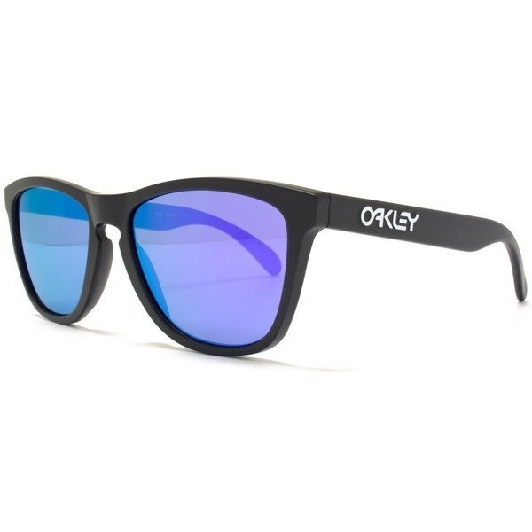 Oakley Frogskins Men's Limited Collector Editions - Matte Black/Violet Iridium
