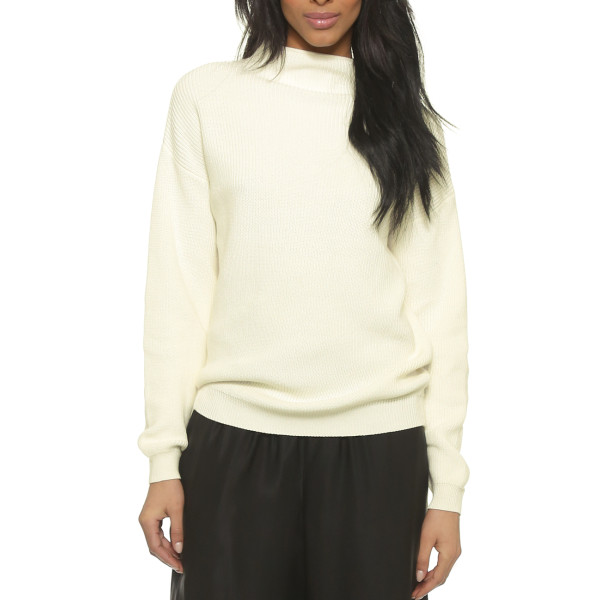 Won Hundred Catherine Sweater, Blanc de Blanc