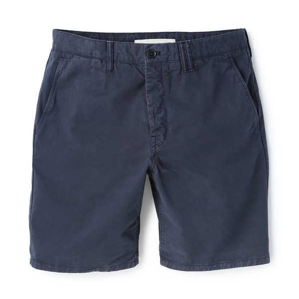 Norse Projects Men's Aros Light Twill Shorts, Dark Navy