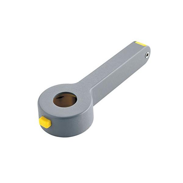 "Alessi Noe Sommelier Corkscrew in Aluminum, Dark Grey 5"""
