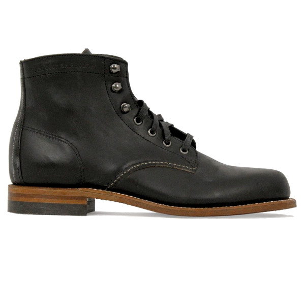Wolverine 1000 Mile Men's Original Black Leather Boots