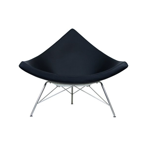 RetroMod Ark Chair, Black
