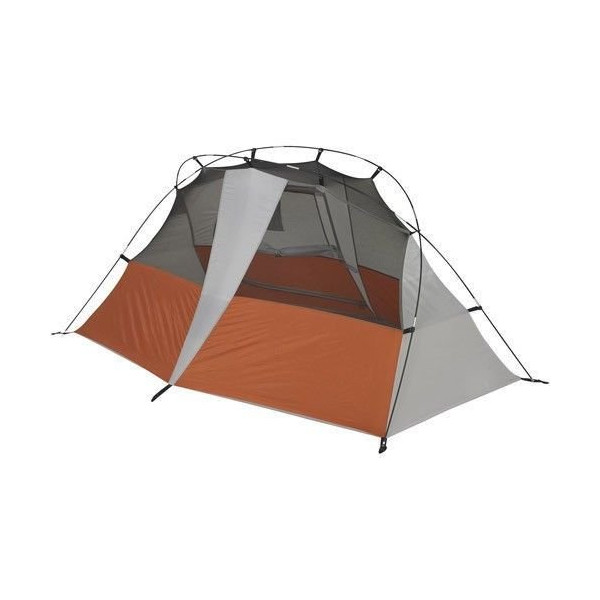 5' X 7' Large Ozark Trail 2 Person Hiker Hiking Tent w/ 2 Pole Design for Fast Setup. This Back Country Home Features a Gear Loft and Two Organizer Pockets. At Only 5 Pounds This Pack Can Go Anywhere on the Trail or in the Woods. This makes a great tent f