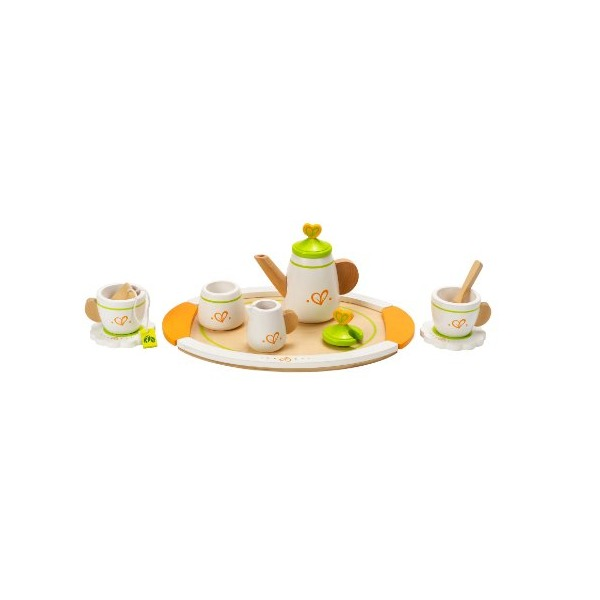 Hape - Playfully Delicious - Tea Set with Tray