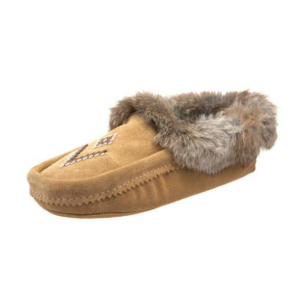 Manitobah Mukluks 20200 Slipper,Tan,Women's 8 M US/Men's 6 D US