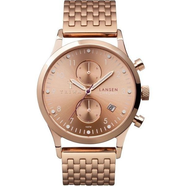 TRIWA Watch, Lansen Chrono, Rose