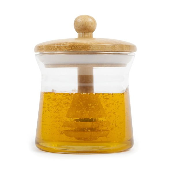 Core Bamboo Honey Comb Jar