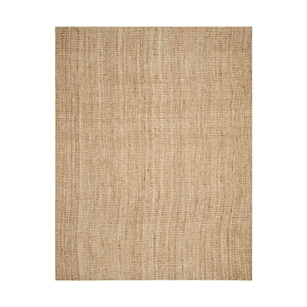 Safavieh Natural Fiber Collection NF447A Handmade Area Rug, 8-Feet by 10-Feet, Natural Jute